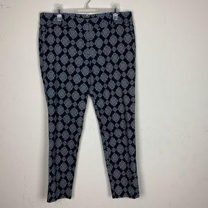 Ann Taylor- Blue Pants Straight Leg Pants size 12